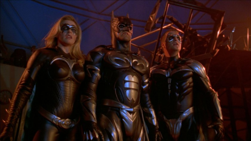 Batman And Robin Alicia Silverstone George Clooney Chris O'Donnell
